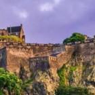 Барсук захватил часть шотландского замка